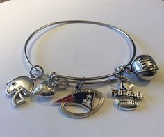 A personal favorite from my Etsy shop https://www.etsy.com/listing/272772786/nfl-new-england-patriots-football