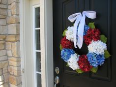 Holiday Wreaths 4th of July Wreath Independence by twoinspireyou