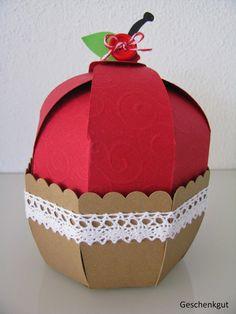 Geschenkverpackung Cupcakes