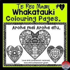 Growing up, one of my favourite hobbies was colouring in. I used those crayons that melt if you held them tightly. I liked colouring . Waitangi Day, Maori Words, Maori Symbols, Early Childhood Centre, Bilingual Classroom, Maori Art, Kiwiana, School Art Projects, How To Make Light
