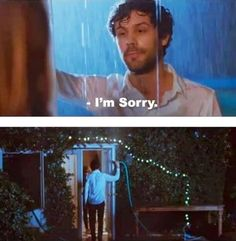 Romantic apology…hahaha if you did this I would have to forgive you!!