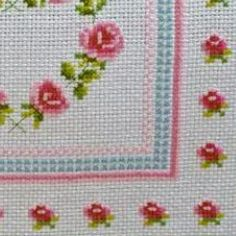 R Cross Stitch Rose, Cross Stitch Embroidery, Cross Stitch Patterns, Table Linens, Diy And Crafts, Alphabet, Kids Rugs, Pillows, Instagram Posts