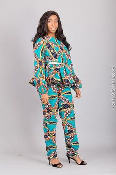 Bosco Set - HouseOfSarah14 African Prints, Playsuits, Trousers, Collection, Instagram, Tops, Dresses, Style, Vestidos