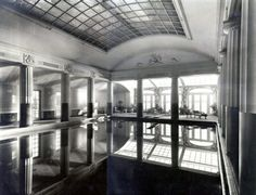 Legacy of L'Ecole des Beaux-Arts architects in the Hamptons - Natatorium at the Port of Missing Men