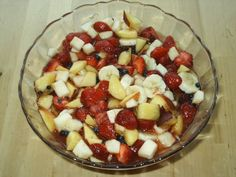 Fantastický letní osvěžující ovocný salát!!!!! Fruit Salad, Fit, Fruit Salads, Shape