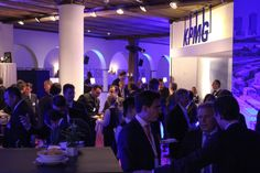 KPMG @ WEF 2014: The KPMG house band, Sound Advice, drawing the crowds at Davos