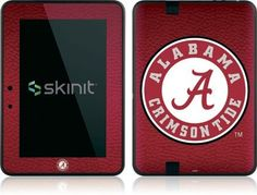 Skinit University of Alabama Seal Vinyl Skin for Amazon Kindle Fire HD 7 by Skinit. $19.99. IMPORTANT: Skinit skins, stickers, decals are NOT A CASE. Our skins are VINYL SKINS that allow you to personalize and protect your device with form-fitting skins. Our adhesive backing can be applied and removed with no residue, no mess and no fuss. Skinit skins are engineered specific to each device to take into account buttons, indicator lights, speakers, unique curvature and will not int...
