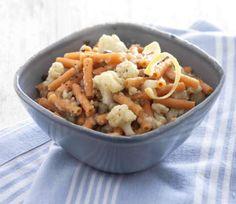 maccheroni lenticchie