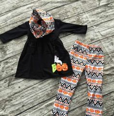 Fall Aztec Boutique Outfit