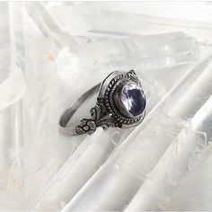 Liliana vintage silver and amethyst   Click the link and check out the Xenosis rings!