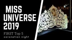Miss Universe 2019 Top 5  DECEMBER 9  coronation night! December, Universe, Night, Tops, Outer Space, The Universe, December Daily, Cosmos