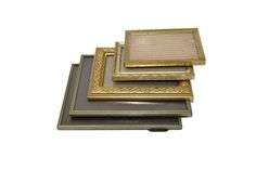 Vintage Brass Picture Frames Gold Picture Frames Stand up