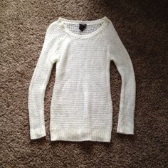 It's Our Time Cream Sweater Dress Fuzzy sweater dress from It's Our Time! Thinner, but very warm. jcpenney Dresses