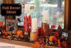Autumn & Halloween Home Decor Ideas on MomSpotted.com #homedecor #falldecorating #autumn