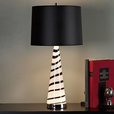 Art Glass Table Lamp Base-21H  add shade 79.00