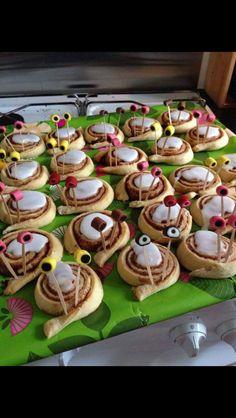 Kanel snegle Cute Food, Good Food, Snacks, Food Humor, Creative Food, Food Inspiration, Kids Meals, Cake Decorating, Sweet Treats