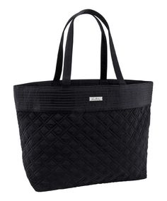 Loving this Vera Bradley Classic Black Grand Tote on  zulily!  zulilyfinds  Pack Your cb8f0e834dc50