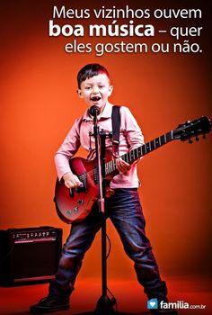 Ensine os seus filhos a amar a música