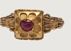 Renaissance Gemstone Ring - Western Europe, Italy?, mid-16th century