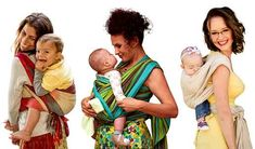 Newborn wrap carries. This site has tons of how-tos for carries from newborn to toddler age.