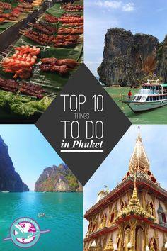 10 Things To Do in Phuket #phuket #thailand #tropical