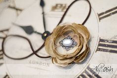 Drab-to-fab vintage silk flowers tutorial