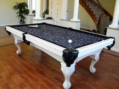 Best Pool Tables White White Pool Table, Outdoor Pool Table, Billiard Pool  Table,