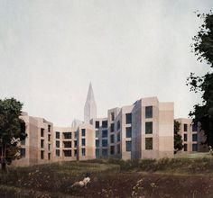 Areal Rosengarten - student housing - Zürich - Switzerland - pool - 2014