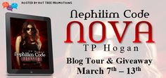 #Giveaway Sammy's Book Obsession: Blog Tour & Giveaway: Nova (Nephilim Code) by TP H...