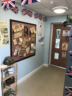 WW2 Classroom entrance