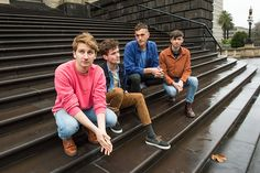 Glass Animals - Dave Bayley, Drew MacFarlane, Joe Seaward, and Ed Irwin-Singer