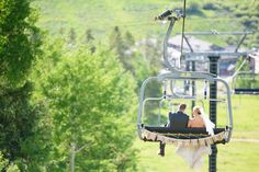 Granby Ranch Wedding, Bride and groom on a ski lift, just married sign ski lift, Melissa Yocum Photography Snowboard Wedding, Just Married Sign, Wedding Bride, Wedding Ideas, Ski Lift, Ecommerce Hosting, Porch Swing, Getting Married, Fairytale
