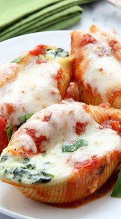 Spinach-Ricotta Stuffed Shells