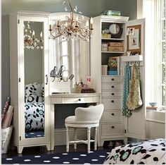 Vanity with full length mirror and lots of storage spaceBlack Cord Globe String Lights   Globe string lights  Cord and Globe. Makeup Vanity With Lots Of Storage. Home Design Ideas