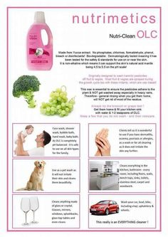 OLC Great Uses from washing the dog to washing the fruit & vegies, bath time, so many uses www.nutrimetics.com.au/debosborn