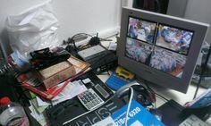 2012/2013 Kunde Videoüberwachungs Installation  upps .. da liegt ja meine Brille ....