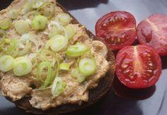 Füstölt halas szendvicskrém Baked Potato, Potatoes, Baking, Ethnic Recipes, Food, Potato, Bakken, Essen, Meals