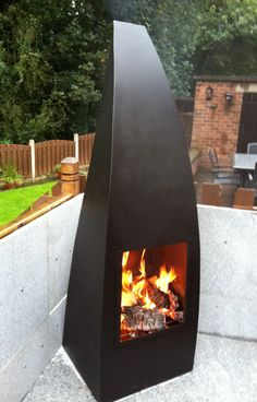 Large Chiminea - plate steel.
