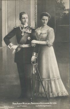 Prince August Wilhelm and Princess Alexandra Victoria