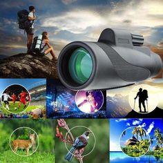 1000X Zoom Waterproof Monocular Mobile Telescope – MDRNmint Wilderness Explorer, Ring Der O, Smartphone Holder, Crisp Image, Bird Watching, Taking Pictures, Dance Pictures, Stargazing, Night Vision