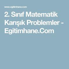 2. Sınıf Matematik Karışık Problemler - Egitimhane.Com