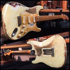 Fender Guitars – Page 2 – Learning Guitar Fender Stratocaster, Fender Relic, Fender Guitars, Guitar Amp, Cool Guitar, David Gilmore, Basic Guitar Lessons, Cool Electric Guitars, Beautiful Guitars