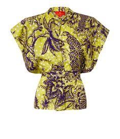 VIVIENNE WESTWOOD Yellow Bee Blouse. #viviennewestwood #cloth #