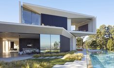 The residence is immersed into the hillside, providing with breathtaking views…