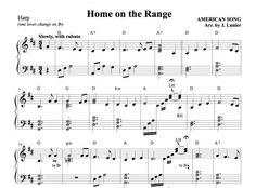 $1.50 Harp Music: Home on the Range