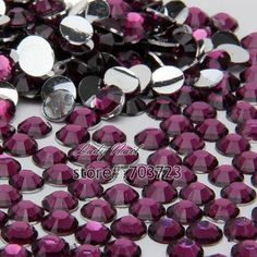 Find More Rhinestones & Decorations Information about 1000PCS ss20 5mm Hot Sale Flatback Acrylic Makeup Nail Art Decoration Glitter Rhinestones Beads Purple green  N17,High Quality beads bicone,China beads for jewellry making Suppliers, Cheap bead crystal from Lady Nail on Aliexpress.com