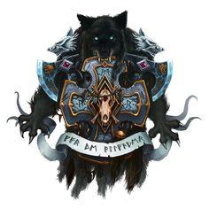 Wolves of Fenris by Eupackardia.deviantart.com on @deviantART