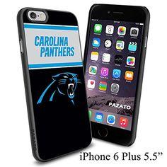 "NFL CAROLINA PANTHERS , Cool iPhone 6 Plus (6+ , 5.5"") Smartphone Case Cover Collector iphone TPU Rubber Case Black Phoneaholic http://www.amazon.com/dp/B00VXBRSFK/ref=cm_sw_r_pi_dp_JPQmvb025B48S"
