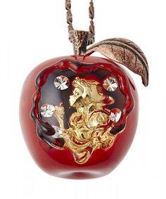 Q pot Disney Story Dreamed by Q-pot Snow White Meruti poisoned apple Necklace #Qpot #Charm