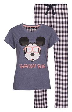 Primark - Pijama Disney Mickey Mouse x Pyjama Mickey, Pijama Disney, Disney Pajamas, Cute Pjs, Cute Pajamas, Pajamas Women, Mickey Mouse, Disney Mickey, Lingerie Sleepwear